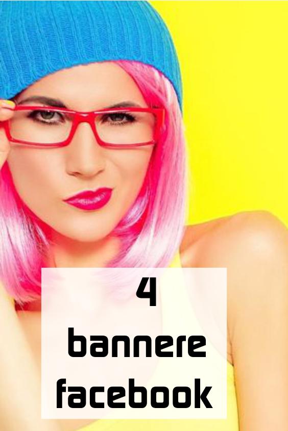 4 bannere Facebook