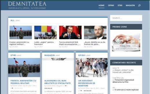 design web Demnitatea