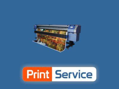Print Service web design