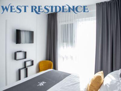 West Residence - design al paginii web